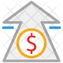 Arrow Dollar Sign Icon