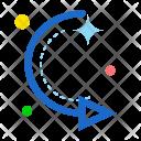 Circle Turn Right Icon