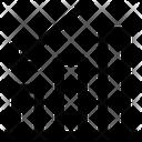 Arrow Bar Growth Icon