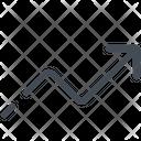 Arrow Chart Rise Icon