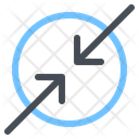 Arrow Compress Direction Icon