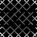 Arrow Dirrection Intersection Icon