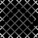 Arrow Chart Fall Icon