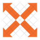 Four Way Arrows Icon