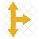 Arrow Cross Arrow Sign Icon