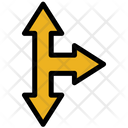 Cross Arrow Rigth Move Icon