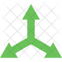 Arrow Center Cross Icon