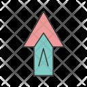 Arrow Up Plus Icon