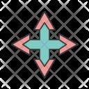 Arrow Quad Icon