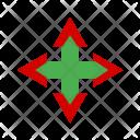 Arrow Quad Arrows Icon