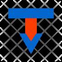 Arrow Down Callout Icon