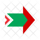 Arrow Notched Right Icon