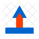 Arrow Up Callout Icon