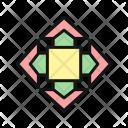 Arrow Quad Callout Icon