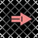 Arrow Right Way Icon