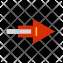 Arrow Right Path Icon