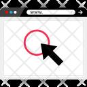 Arrow Click Pointer Icon