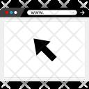 Arrow Click Web Icon