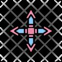 Arrow Quad Direction Icon