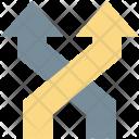 Arrow Fork Arrows Icon
