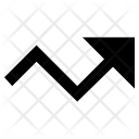 Arrow Graph Line Icon