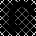 Arrow Left Down Icon