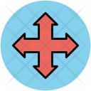 Arrow Mix Pointing Icon