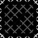 Arrow Bottom Left Rarrow Icon