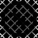 Arrow Bottom Right Oarrow Icon