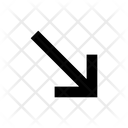 Arrow Bottom Rightarrow Icon