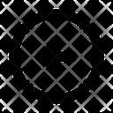Arrow Circle Left Icon