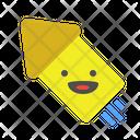 Arrow Diagonal Rocket Crackers Icon