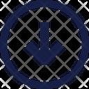 Arrow Down Px Icon
