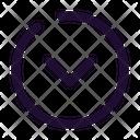 Arrow Down Circle Icon