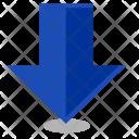 Arrow Down Map Icon
