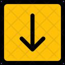 Arrow Down Square Icon