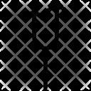 Arrow fork Icon