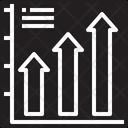 Arrow Graph Icon