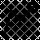 Arrow Graphic Graph Graphic Icon