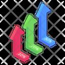 Arrow Growth Chart Icon