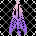 Arrow Head Leaf Icon
