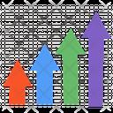 Arrow Infographic Icon
