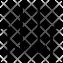 Arrow Inside Gap Icon