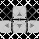 Arrow Keys Arrow Direction Icon