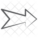 Arrow Label Right Arrowhead Direction Arrow Icon