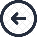 Control Arrow Left Icon