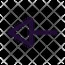 Arrow Left Left Left Side Icon