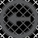 Arrow Left Button Icon