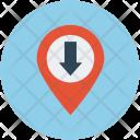 Arrow Location Icon