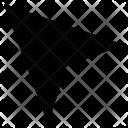 Arrow point Icon